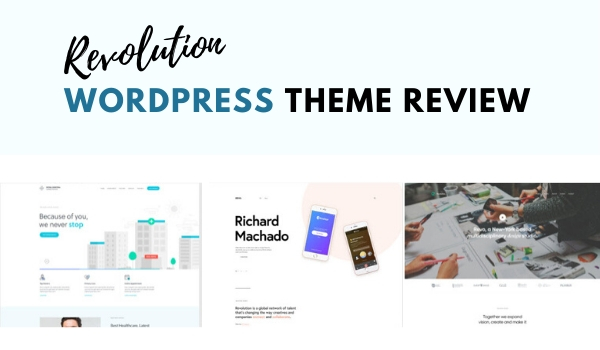 revolution wordpress theme review